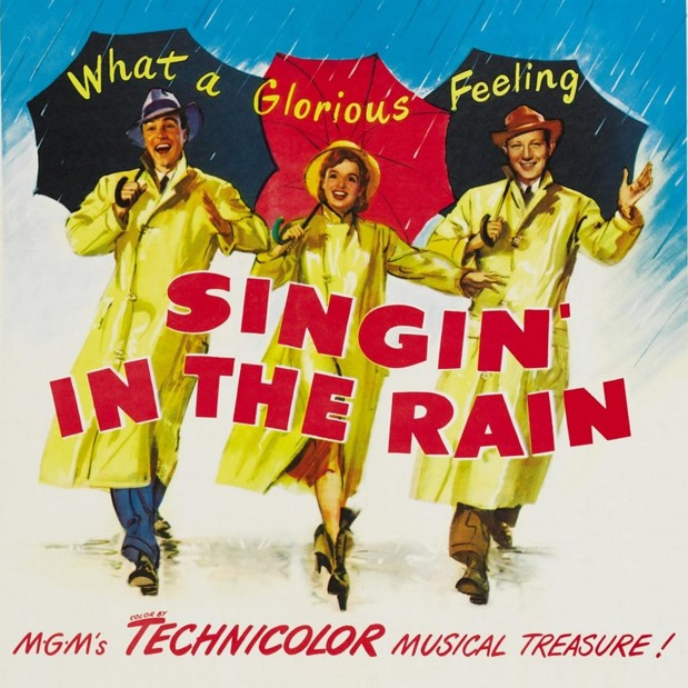 Historia del doblaje - Bailando bajo la lluvia